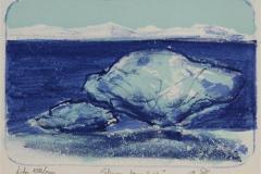 Stivna kjaerleik Litografi 11x15 cm 700 ur