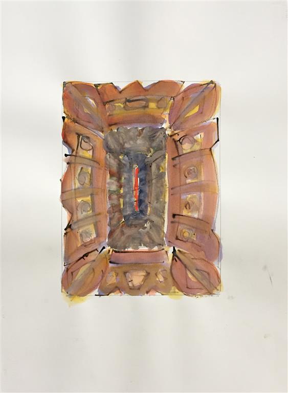 Ikon III Akvarell (41x30 cm) kr 6000 ur