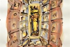 Ikon I Akvarell (54x38 cm) kr 7500 ur