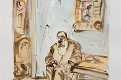 Kielland III Akvarell (46x31 cm) kr 6500 ur