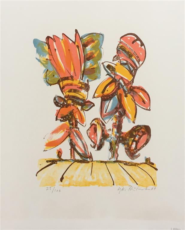 Blomster II Litografi (20x15 cm) kr 1500 ur
