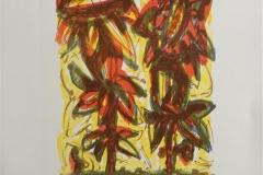 Blomster IV Litografi (23x16 cm) kr 1500 ur