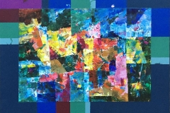 Høst Akrylmaleri (46x57,5 cm) kr 4600