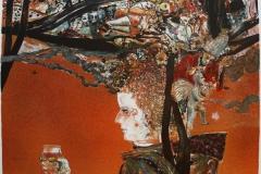 Amarcord Litografi 57x60 cm 4500 ur