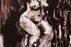 Furie Litografi 43x31,5cm 1000,-kr u.r.