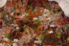 Fjell, Gran Canaria Akrylmaleri 28x40 cm 5000,-kr m.r.