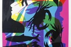 Havets gudinne Serigrafi 60x45,5 cm 4000 ur