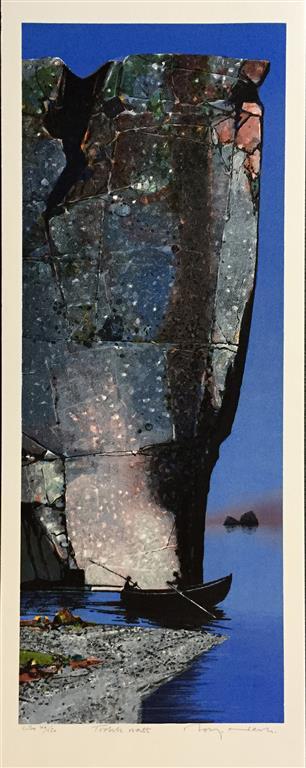 Trolsk natt Litografi (86x33 cm) kr 5000 ur