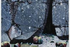 Liten strand Litografi (41x21 cm) kr 2400 ur