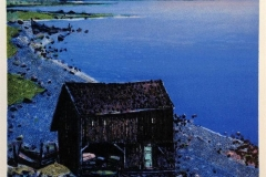 Sommernatt Litografi (26x26 cm) kr 2000 ur
