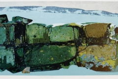 Vinterlys Litografi (27x85 cm) kr 3000 ur