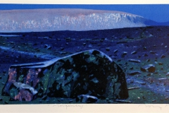 Morgenlys Litografi 24x55 cm 4200 mr