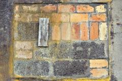 Brick Mosaic Fotografi (45x55 cm) kr 5000 ur