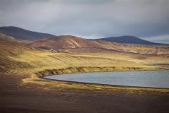 Fjallabaksleið II Fotografi (65x100 cm) kr 6000 ur