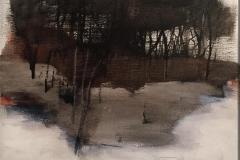 Pilgrimsvandring Akrylmaleri (38x43 cm) kr 7000 mr