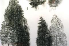 Vandrer Tegning, kull (65x42 cm) kr 7900 mr