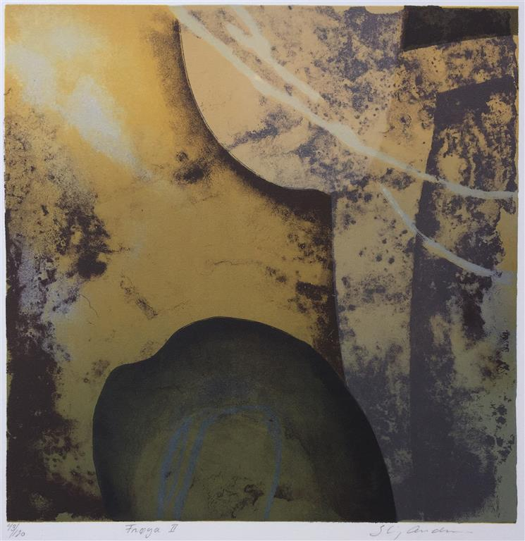 Frøya II Litografi (33x33 cm) kr 2500 ur