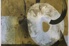 Sublunar gul Litografi (60x60 cm) kr 4500 ur