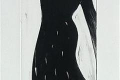 Løft No 10 Monotypi (66x15 cm) kr 3500 ur
