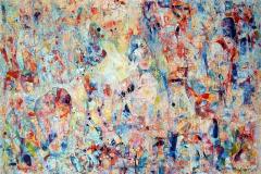 Elena Vorobyeva Kjærlighetsformel X (100x150 cm) kr 35000