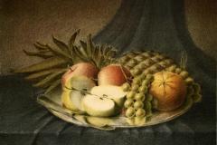 Fruktfat Litografi 29,5x39,5 cm 1800 ur