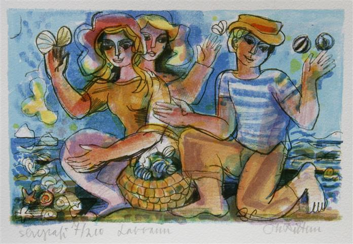 Lavvann Serigrafi (15x23 cm) kr 900 ur