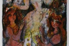Brudestas Serigrafi 43x27,5 cm 2000 ur