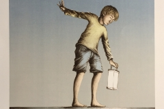 I will follow the light of my life Litografi (56x42 cm) kr 4000 ur