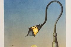 Knowledge will light my way Litografi (32x42 cm) kr 3000 ur