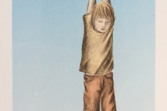 They told me to grow up II Litografi (59,5x20 cm) kr 2000 ur