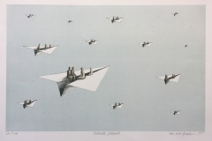 Towards pleasure Litografi (38,5x60 cm) kr 3000 ur