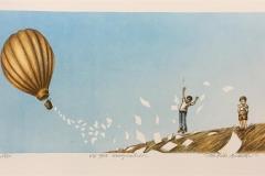 Use your imagination Litografi (22x43 cm) kr 1900 ur