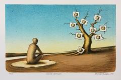 Visible dreams Litografi (26,5x42,5 cm) kr 1800 ur