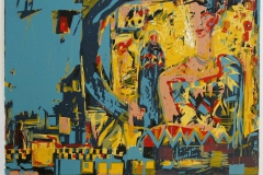 Dronning Tamara Tresnitt 35x49 cm 2500 ur
