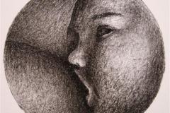 Nattmat Litografi 13,5x13,5 cm 450,-kr u.r.