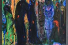 I fortrolighet Akrylmaleri (61x42 cm) kr 3500