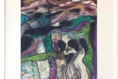 Kvinner Pastell/kull (43x38 cm) kr 4000 mr