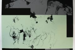 Komposisjon, lys grønn Serigrafi (50x60 cm) kr 5000 ur