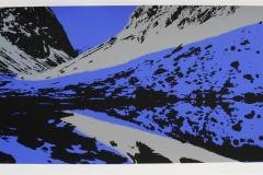 Landskap III Serigrafi (25x64 cm) kr 3000 ur