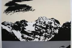 Landskap IV Serigrafi (48x64 cm) kr 5000 ur