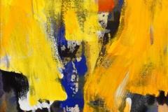 Slør Akrylmaleri (46x36 cm) kr 4000 ur