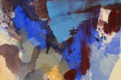 Strå Akrylmaleri (46x36 cm) kr 3600 ur