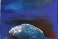 Grete Skoe. Sveve Akrylmaleri (100x80 cm) kr 9500 mr