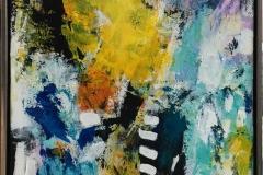 I'm still breathing II Akrylmaleri (80x60 cm) kr 6500 mr