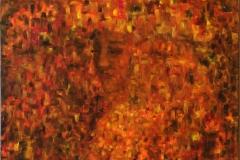 Mosaikk Oljemaleri (90x70 cm)