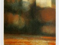 Samspill Litografi 40x17 cm 1700 ur