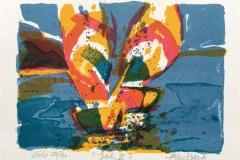 Juli II Litografi (13x17 cm) kr 900 ur