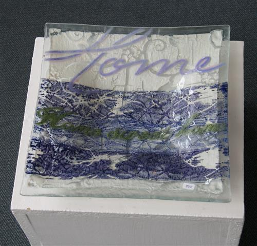 Fat Glass (24x24 cm) kr 850