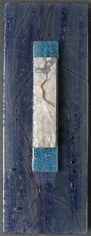 Glassbilde Fuset glass (73x27 cm) kr 3500