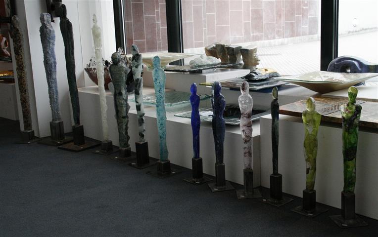 Skulptur Glass (H 39-46-65-67-70 cm), pris kr 1800,-3000,-3500,-4000,-5000,-8500